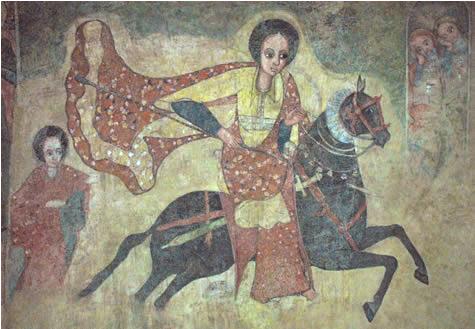 etiopska freska